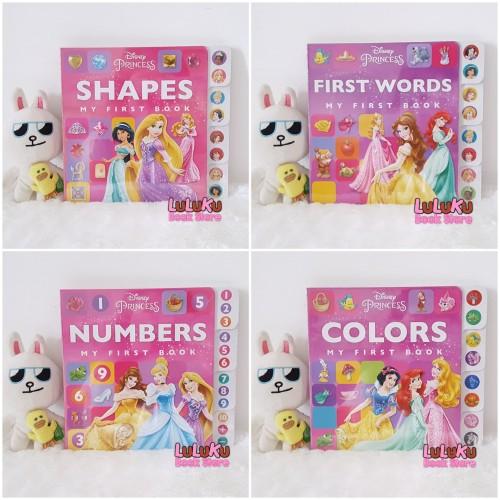 Foto Produk Buku Edukasi Anak Bayi Baby Board Books - Disney Princes My First Book - Colors dari LuLuKu Book Store