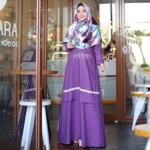 Foto Produk baju gamis wanita terbaru attin zia dress dari Gamis Chic