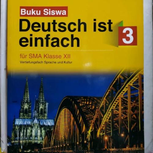 Jual Bahasa Jerman Deutsch Ist Einfach Sma Kelas Xii K13 Tiga Serangkai Kota Surakarta Ethes Bookstore Tokopedia