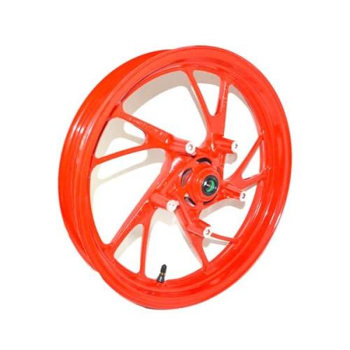 Foto Produk Velg Depan (Wheel Sub Assy FR) Merah New CB150R Streetfire K15G K15M dari Honda Cengkareng