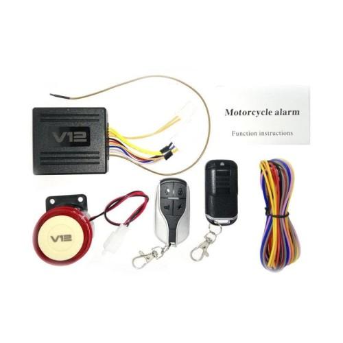 Foto Produk Virgo Racing Virgo Racing Alarm Motor Remote V12 Fitur Lengkap [ Alarm dari Lamtotamastore