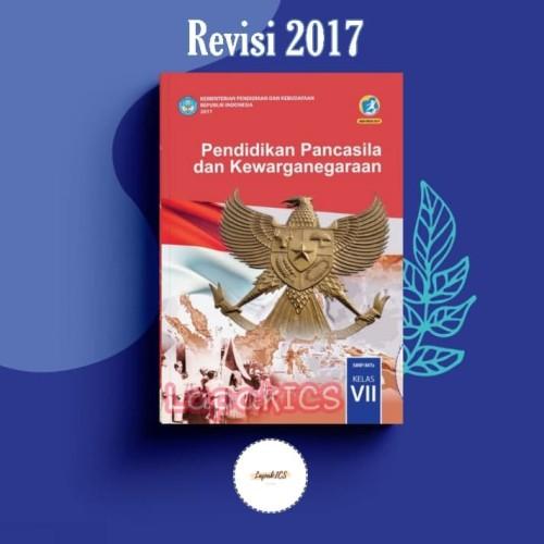 Foto Produk Buku PKN PPKN Pendidikan Kewarganegaraan SMP Kelas 7 Revisi 2017 2018 dari Hijau TuppyOn