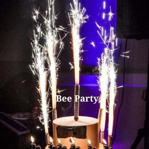 Foto Produk Lilin Air Mancur /Lilin kue Ulangtahun - Tinggi 15cm dari bee party