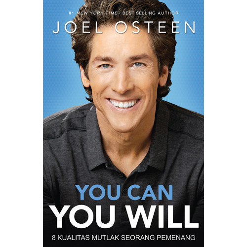 Foto Produk YOU CAN YOU WILL - Joel Osteen dari 180 christian store