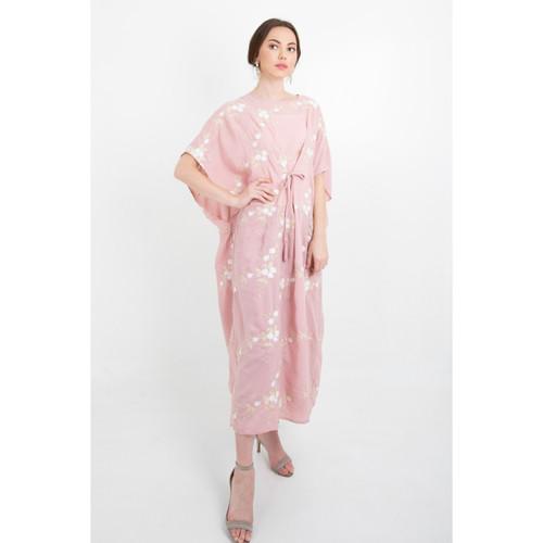 Foto Produk Full Emb Kaftan W/ Tassels - Pink dari Icons