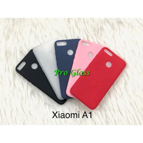 Foto Produk C107 Xiaomi Mi A1 / Mi 5x Ultrathin Silicone Case / Matte Silicon Case dari Pro Glass