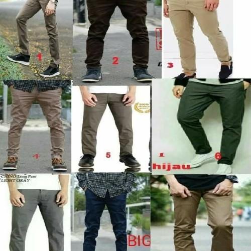 Foto Produk Celana Chino Panjang Jumbo / Big Size lengkap Semua Warna dari sepatu azer