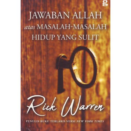 Foto Produk Jawaban Allah Atas Masalah-Masalah Hidup Yang sulit (Rick Warren) dari lilinkecil