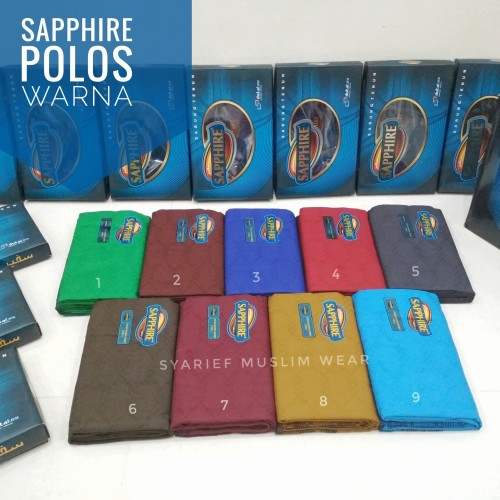Foto Produk Sarung Sapphire - Warna dari Syarief Muslim Wear