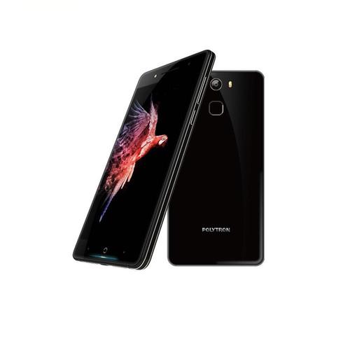 Foto Produk Polytron Prime 7S Smartphone - [64GB/ 3GB] + Free Tempered Glass Front - Hitam dari Polytron Mobile