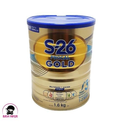 Foto Produk S26 PROCAL Gold 3 Vanila Tin 1600g / 1600 g dari BAYININJA
