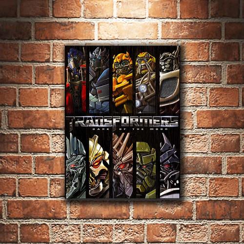 Foto Produk Transformers Robot Poster Kayu Pajangan Dekorasi Dinding Rumah dari Cakep-Production