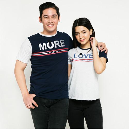 Foto Produk METALIZER 1077 3093 T-Shirt Spesial Baju Kaos Couple Katun Premium - Green Misty, M dari teetimeid