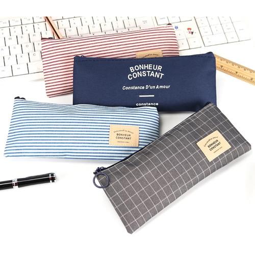 Foto Produk TP0015 Tempat pensil Bonheur Constant - navy dari EnnWen Online Store