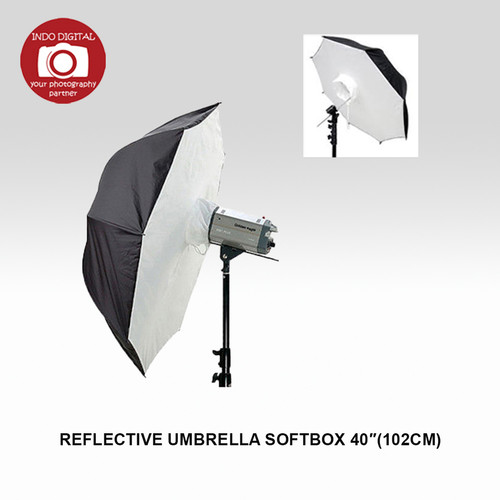 "Foto Produk Reflective Umbrella Softbox 40"" / Payung Softbox 40"" dari Indo Digital Nusantara"