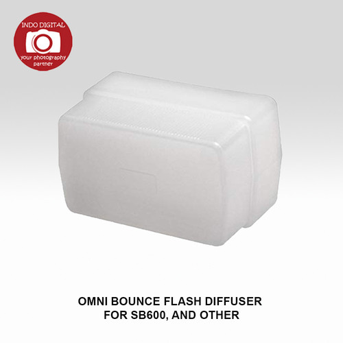 Foto Produk OMNI BOUNCE FLASH DIFFUSER FOR SB-600 dari Indo Digital Nusantara