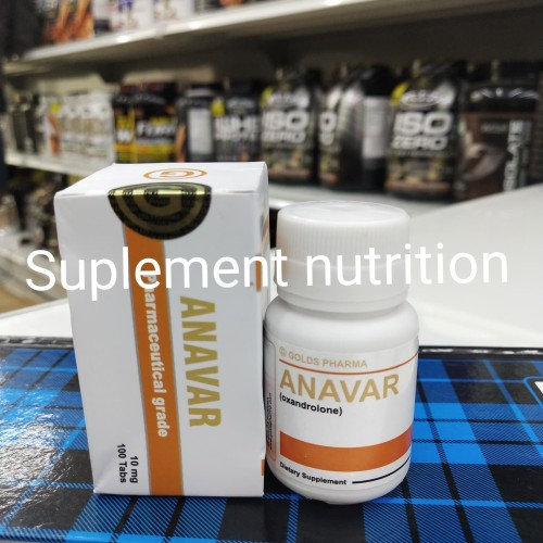 Foto Produk Anavar gold pharma 100 tablt dari suplement nutrition