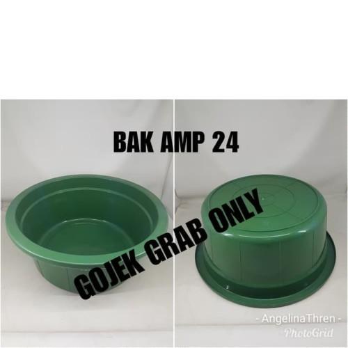 Foto Produk BAK BULAT AMP 24 / BAK PLASTIK BULAT 55X23 GOJEK GRAB ONLY dari perabotshop15