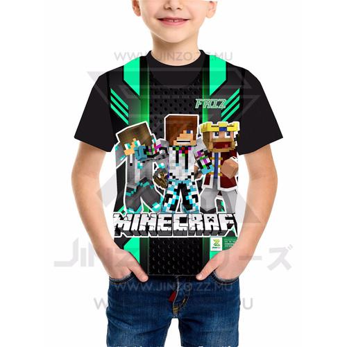 Foto Produk Kaos Anak Mine Craft 2 dari Jinzo Series