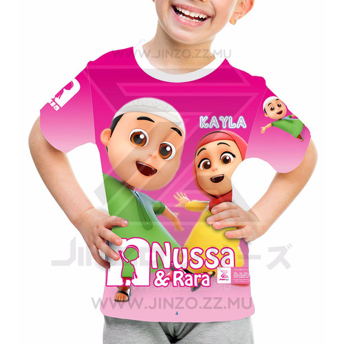 Foto Produk Kaos Anak Nussa dan Rara 2 dari Jinzo Series