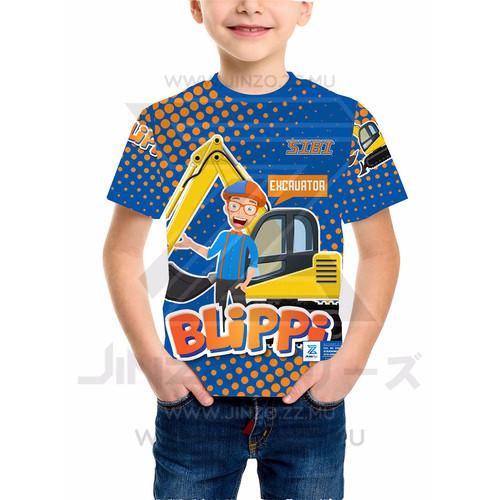 Foto Produk Kaos Anak Blippi 2 dari Jinzo Series