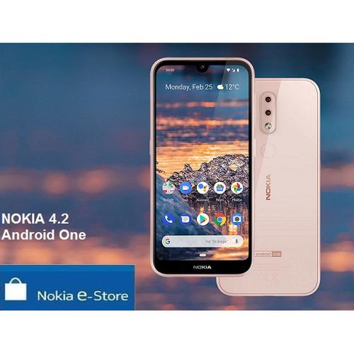 Foto Produk Nokia 4.2 NEW ( 2019 ) GARANSI RESMI NOKIA INDONESIA - Hitam dari NOKIA e-store