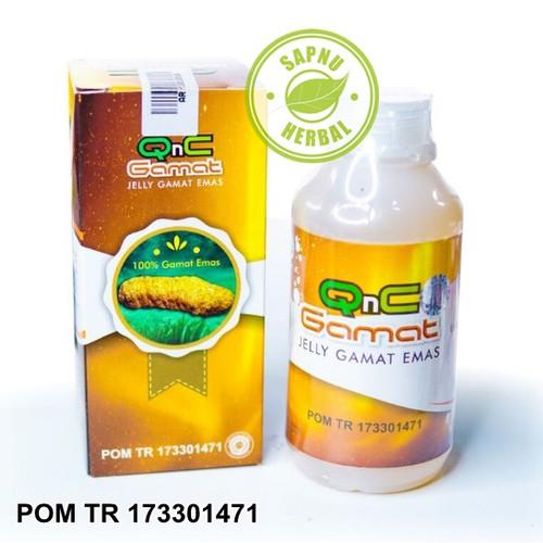Foto Produk Obat Kista Ganglion - QnC Jelly Gamat dari AGEN OBAT HERBAL WALATRA