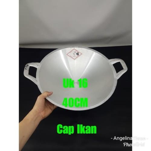 Foto Produk penggorengan alumunium cap ikan 16 GOJEK GRAB ONLY dari perabotshop15