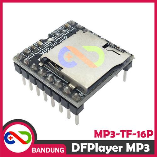 Foto Produk [CNC] DFPLAYER DF PLAYER MINI MP3 PLAYER MODULE FOR ARDUINO MP3-TF-16P dari CNC STORE BANDUNG