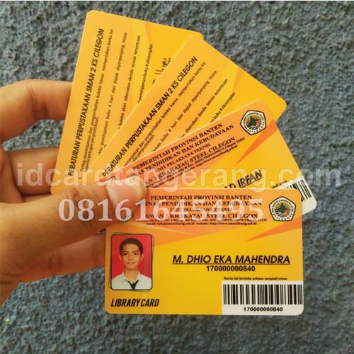 Foto Produk Cetak ID Card Glossy Murah + Jual Kartu ID pegawai dari ID Card TGR