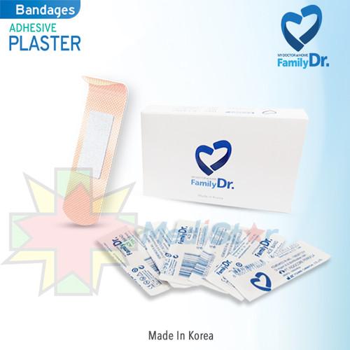 Foto Produk FamilyDr Adhesive Plaster Bandages 100pcs dari MediStar