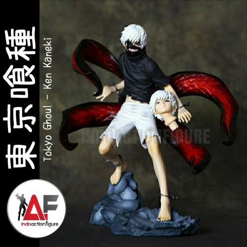 Foto Produk Action figure Anime Tokyo Ghoul Ken Kaneki awakened version ARTFX dari IndoActionFigure