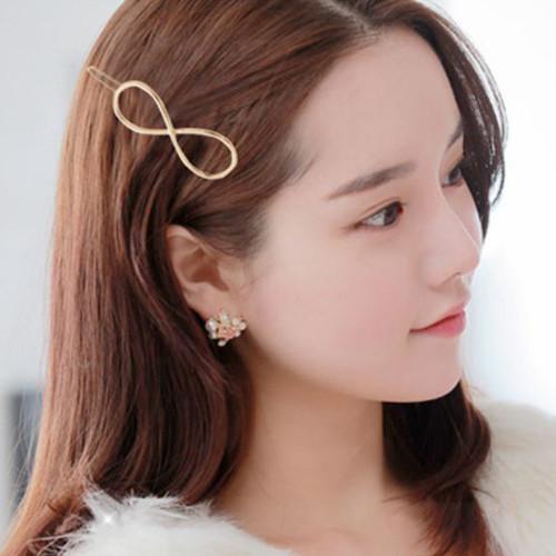 Foto Produk jepit rambut infinite hair clip jje038 - gold dari Oila