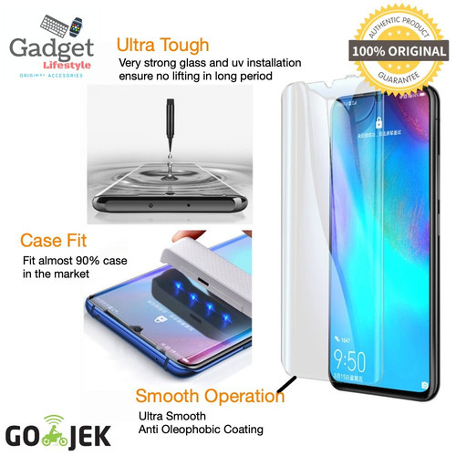 Foto Produk Original Mocolo Premium Full Cover Tempered Glass Huawei P30 Pro - UV dari GadgetLifestyle Official