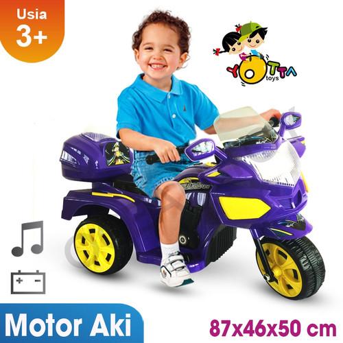 Foto Produk Mainan Motor Aki Anak Yotta Halilintar dari BRECHT.ID