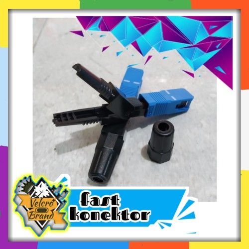 Foto Produk Fast connector SC Upc Fiber Optik dari Velcrobrand
