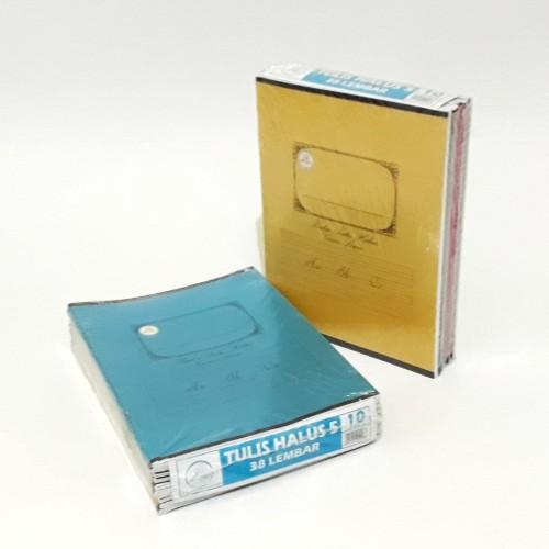 Foto Produk Buku tulis halus Garis 5 / merk AA / isi 10 buku dari asooy stationary
