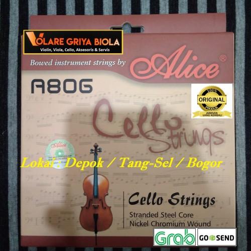Foto Produk Senar Cello Alice 806 set (CGDA) - Toko Fisik dari Toko Biola