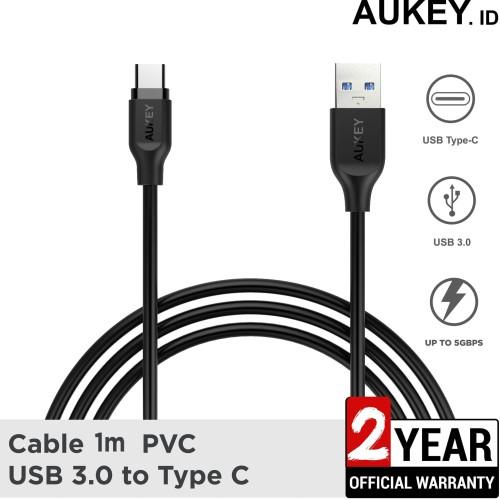 Foto Produk Aukey Cable 1M PVC USB 3.0 A to C - 500255 dari AUKEY