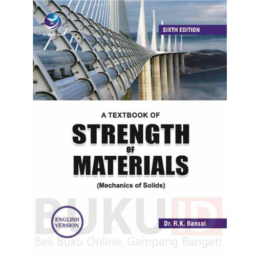 Foto Produk Buku A Textbook of Strength of Materials Mechanics Of Solids - English dari Buku ID
