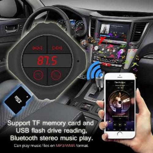 Foto Produk Promo Himaya Handsfree Bluetooth Audio Receiver FM Transmitter with US dari bingsulstores