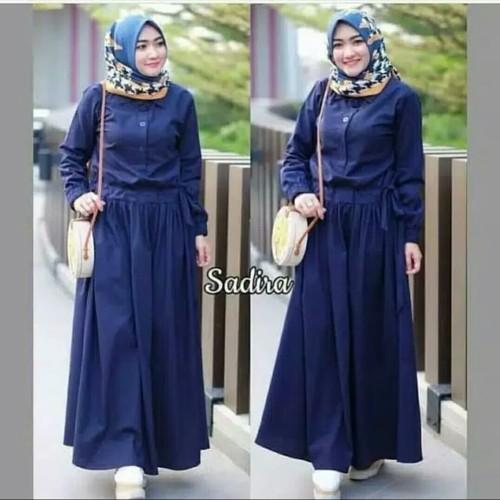 Foto Produk Pakaian Baju Busana Muslim Wanita Dress SADIRA Terbaru Termurah dari Zy's Distro