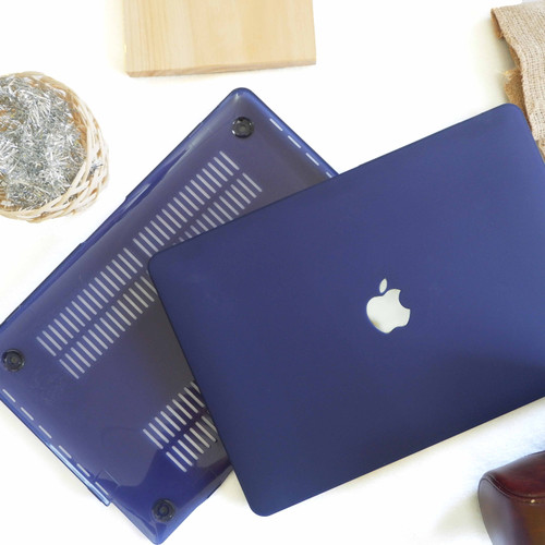 Foto Produk Case macbook New Air 11 12 Air 13 Pro 13 Retina 13 Matte DARKBLUE - NEW AIR TID 13 dari Macbook.Stuff