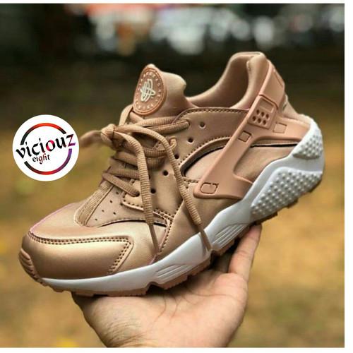 Jual Sepatu Nike Huarache Rose Gold Wanita - Jakarta Selatan - Viciouz Eight   Tokopedia