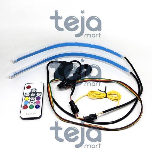 Foto Produk LAMPU LED ALIS SLIM 30CM + REMOTE RGB + SEN/SEIN RUNNING FLEXIBLE dari TejaMart