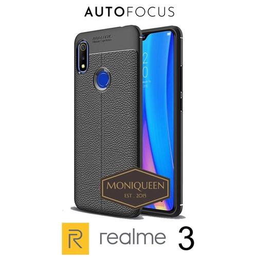 Foto Produk Realme 3 Case Auto Focus Leather Softcase Autofocus case dari MoniQueenShop