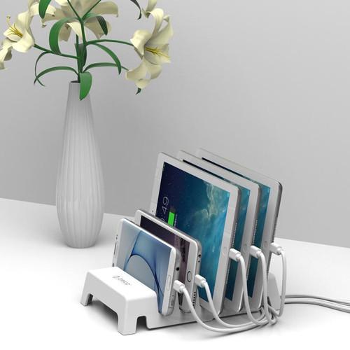 Foto Produk ORICO Desktop Charging Bracket 5-slot for Phone and Tablet - DK305 - Hitam dari ORICO INDONESIA