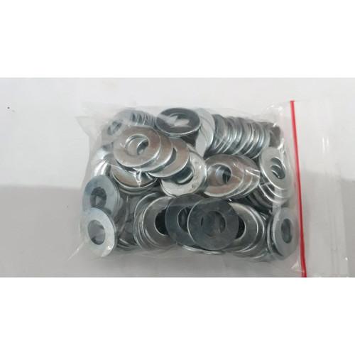 Foto Produk ring plat m8 putih 100 pc dari ONE_FASTENER