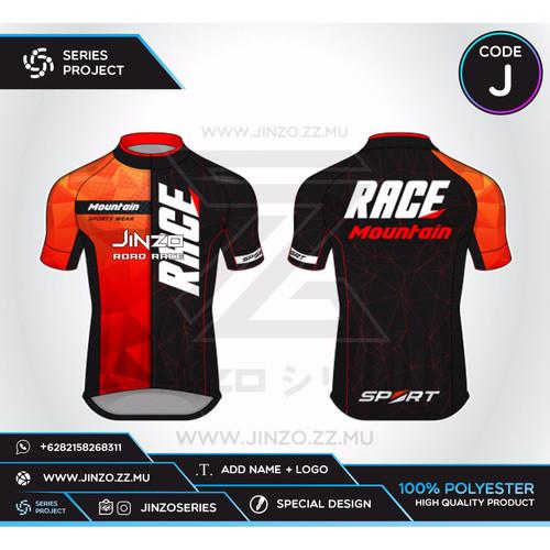Foto Produk Jersey Custom Sepeda Road Bike J dari Jersey Series