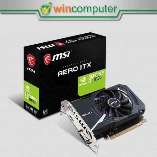 Foto Produk MSI Geforce GT1030 / GT 1030 Aero ITX 2GB DDR5 dari Win Computer